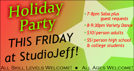 Holiday Party This Friday!
