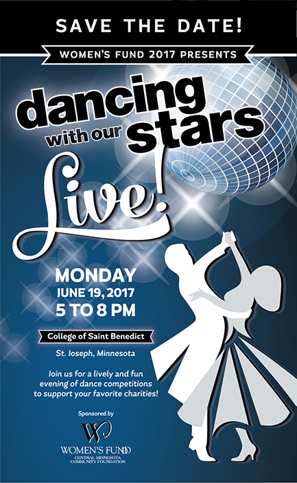 Save the Date - Dancing With Our Stars June 19