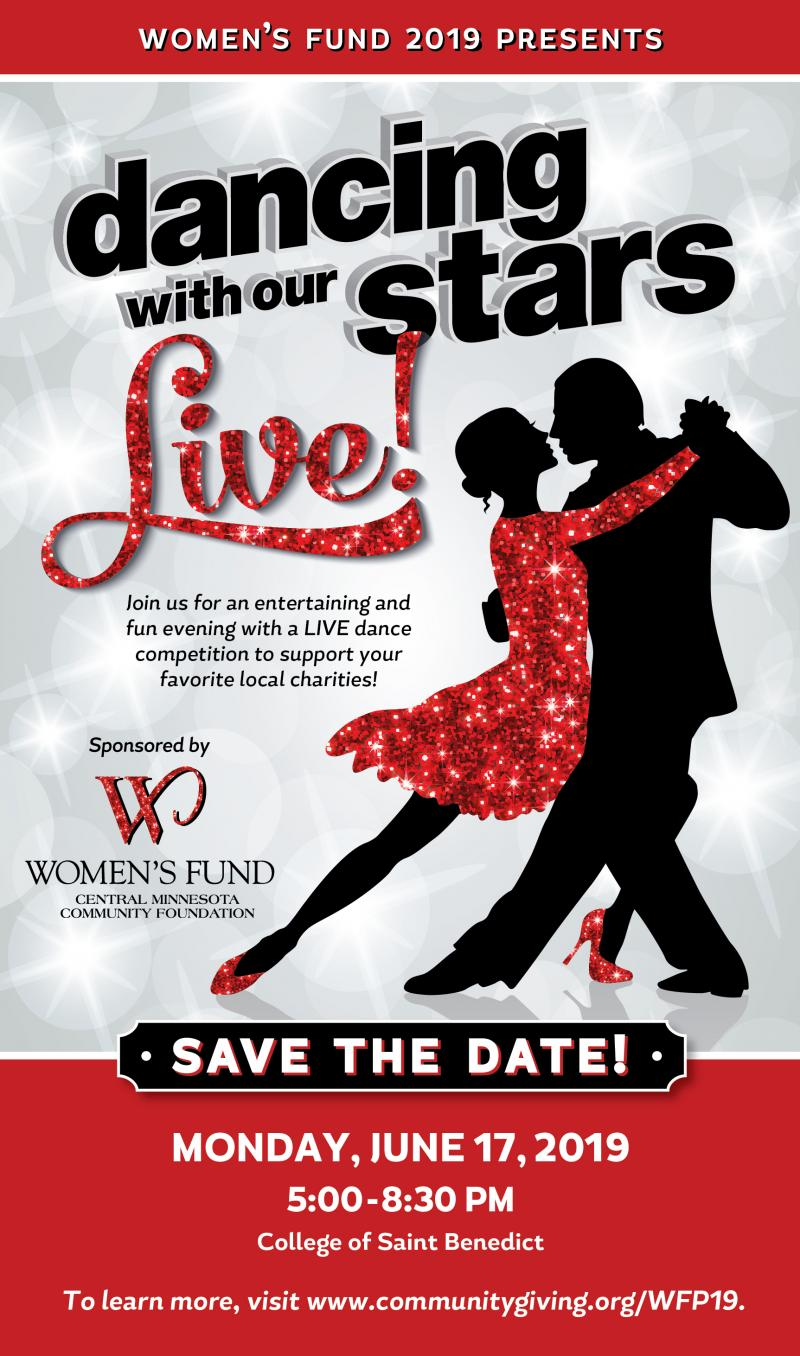 Women's Fund Presents Dancing With Our Stars June 17th