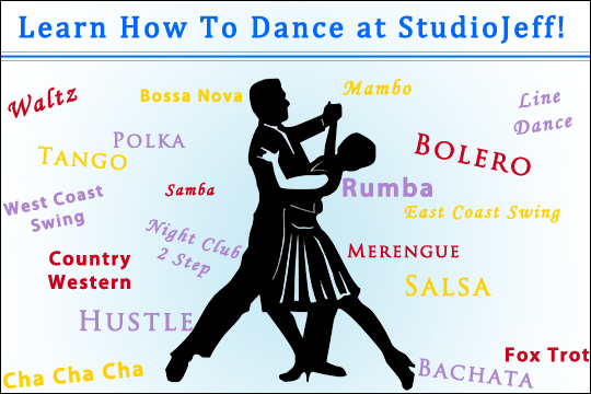 Learn How To Dance At StudioJeff