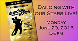 Save the Date for Dancing with our Stars!