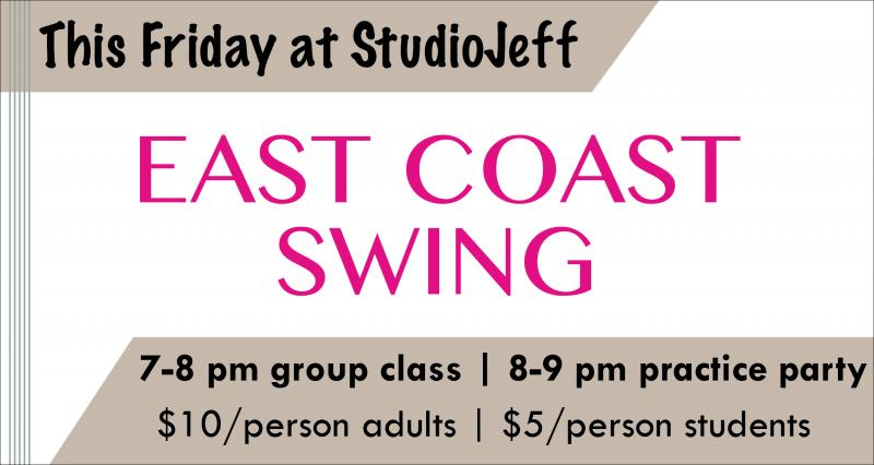 East Coast Swing This Friday!