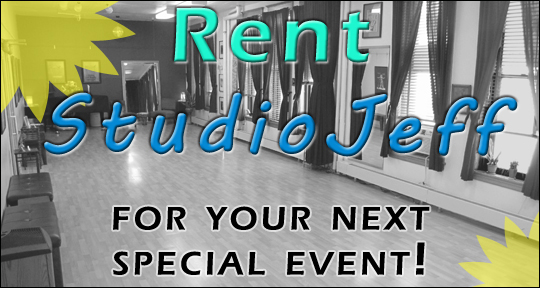 Rent StudioJeff For Your Next Event